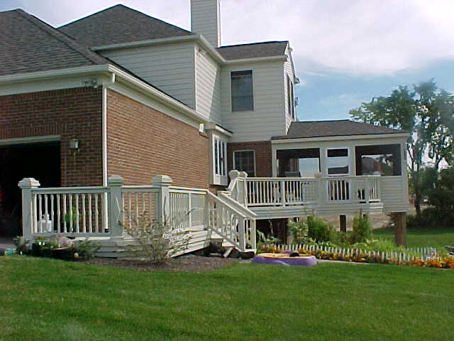 Crows nest on a deck decks fencing contractor talk for Crows nest house plans